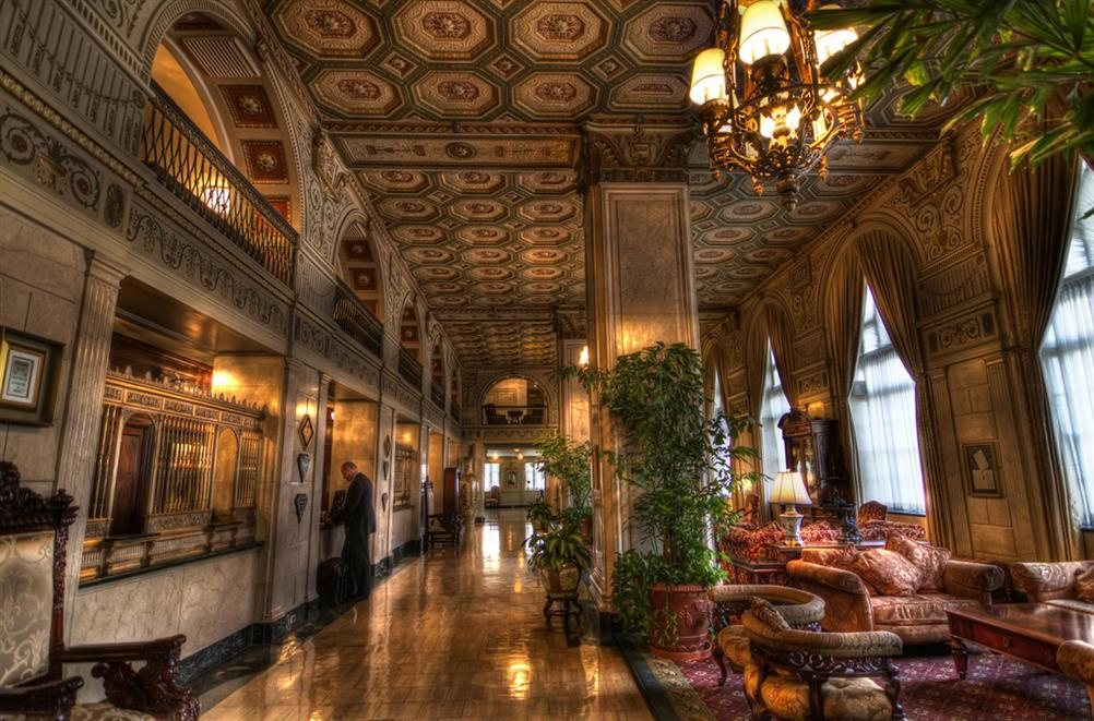 The Brown Hotel Louisville Kentucky Real Haunted Place